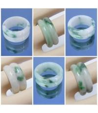แหวนหยกธรรมชาติ หยก 翠玉 ดีไซสวยหินหยกธรรมชาติ