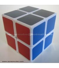 รูบิค 2x2x2 Speed Cube - new Core with Spring ( White )