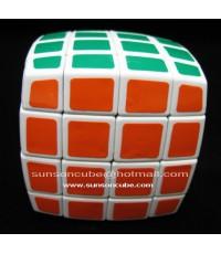 4x4x4  Pillow - QJ / White