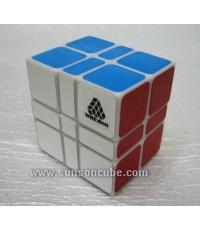 2x3x3 Camouflage WitEden - White