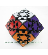 Gear Rhombic Dodecahedron - II  /  Black