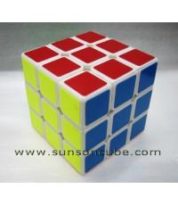 3x3x3 Moyu - Weilong Plus + / White