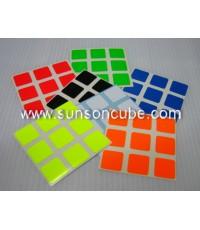 Sticker รูบิค 3x3x3 ( Full Bright )