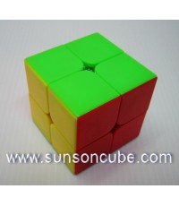 2x2x2 Moyu LingPo - ฺBody color ( Red )