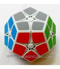2x2x2 Megaminx ( Kilominx ) - SS / White