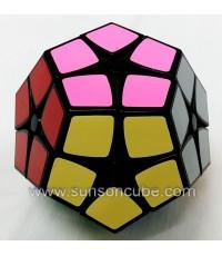 2x2x2 Megaminx ( Kilominx ) - SS / Black