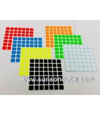 Sticker รูบิค 7x7x7 SS / Z Bright