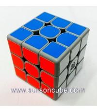 3x3x3 Moyu WeiLong GTS  - ฺGrey