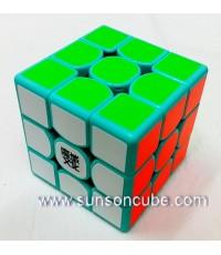 3x3x3 Moyu WeiLong GTS  - ฺTeal