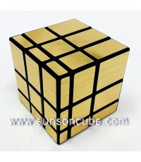 Mirror Block - Cyclone Boy  Black cube  / Gold