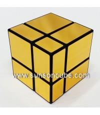 Mirrow Block 2x2x2 - SS   / Black-Gold