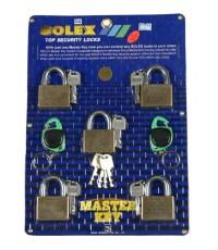 กุญแจชุด 5 ตัวชุด