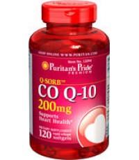 พูริแทน คิวเท็นCoQ10 -200 mg 120 rapid release softgels