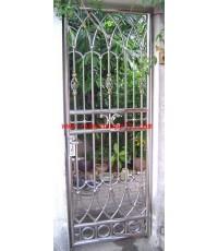 ประตูสเตนเลส บานเล็ก No.4