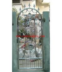 ประตูสเตนเลส บานเล็ก No.12
