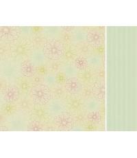 กระดาษ scrapbook KAISER- Harmony12x12นิ้ว double side 2ด้าน(ด้านละแบบ ให้เลือกใช้ค่ะ)
