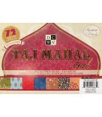 DC ชุดTaj Mahal Mat stack 4.5x6.5นิ้ว 72แผ่น (ชุดPremiumรวมแบบธรรมดา foil และglittered)