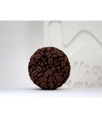แม่พิมพ์ วงกลม รูปเมล็ดกาแฟ 1หลุม(95 g)