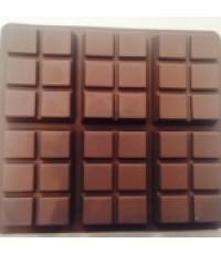 แม่พิมพ์ซิลิโคน รูปแท่งช็อกโกแลต 110g.