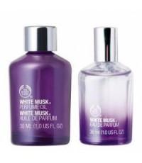กลิ่น White Musk - The Body Shop 450ml.