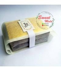 ถุงซองเยื่อกระดาษขยายข้างสีขาว 100 ชิ้น ขนาด 6x14+4 cm.