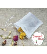ซองถุงเยื้อกระดาษแบบบหนา (ซองใส่ชา) ขนาด 6*8 cm