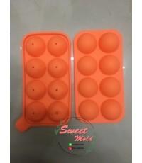 แม่พิมพ์ส้ม3D 8ช่อง ขนาด30กรัม