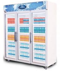ตู้แช่เย็นกระจก 3 ประตู SPM-1503 SANDEN