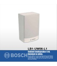 LB1-UW06-L1 ลำโพงตู้สีขาว 6W Cabinet Loudspeaker ยี่ห้อ Bosch