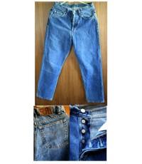 กางเกงยีนส์ Polo by Raph Lauren ไซส์ 29 x 28 ยีนส์กระดุมค่ะ หายาก และป้ายหนังค่ะ