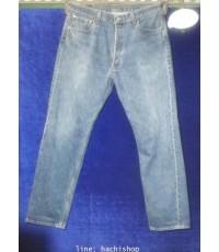 กางเกงยีนส์ Levi\'s 501 (มือสอง) ไซส์ 35 x 32