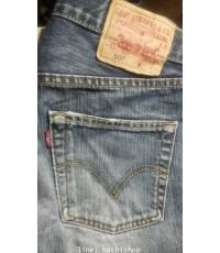 กางเกงยีนส์ Levi\'s 501 (มือสอง) ไซส์ 30 x 34