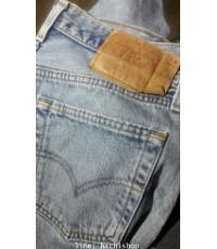 กางเกงยีนส์ Levi\'s 501 (มือสอง) ไซส์  33 x 30