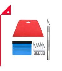 Tiptopcarbon : TTCTL-02* ชุดมีดตัด Wallpaper Smoothing Tool Kit