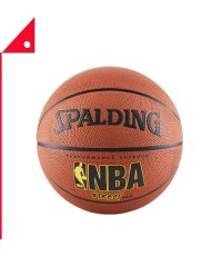 Spalding : SPD63250E* ลูกบาสเกตบอล NBA Street Outdoor Basketball, Size 6