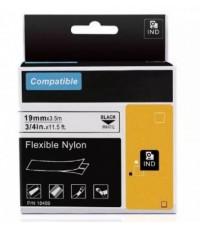 Freshworld : FHW18489* สติ๊กเกอร์พิมพ์ฉลากIndustrial Flexible Nylon Tape 1pk. (3/4 Inch. Black on Wh