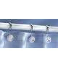 Inter Design : ITD75371 ตะขอแขวนราวผ้าม่านในห้องน้ำ YORK Classic Shower Hook