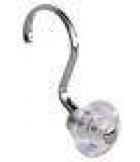 INTER DESIGN : ITD75770 ตะขอแขวนราวผ้าม่านในห้องน้ำ YORK Clear Shower Hook