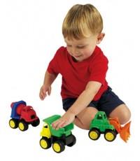 International Playthings : IPLG02217 รถบรรทุกของเล่น Little Tuffies Trucks