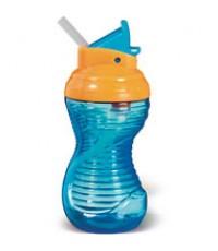MNK 40523:Mighty Grip 10oz Flip Straw Cup