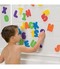 MNK 11020: MUNCHKIN Bath Letters and Numbers