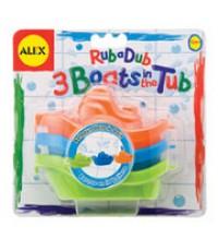 ALX 822W : ALEX 3 Boats in the Tub
