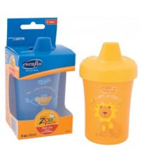 Evenflo : EVF6449611 ถ้วยหัดดื่ม Zoo Friends Sippy Cup Asst