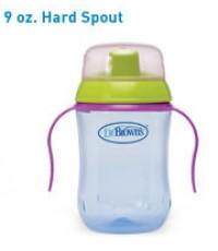Dr. Brown\'s : DRB940 ถ้วยหัดดื่ม Training Cup, 9oz Soft Spout Mixed Colors
