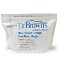 Dr.Brown\'s : DRB960 ถุงนึ่งฆ่าเชื้อด้วยไมโครเวฟ Microwave Steam Sterilizer Bags, Packaging