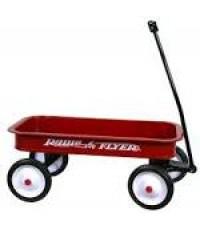 RFR 18*:Radio Flyer Classic Red Wagon รถเข็นวากอน อเนกประสงค์ ราคาพิเศษสุด