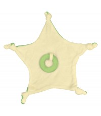 i play : IPY221040M ยางกัด Organic Blankie Cool Soothing Teether