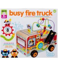 ALX 1997F : ALEX Junior, My Busy Fire Truck Baby Activity Center