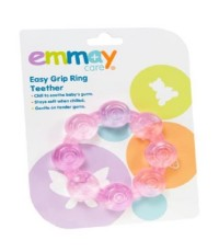 EMM 40810 : EMMAY HEALTH Easy Grip Ring Teether (Pink)