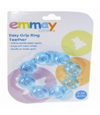 EMM 40811 : EMMAY HEALTH Easy Grip Ring Teether (Blue)